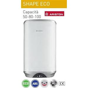 Ariston 3605176 shape eco lt50 v 5 scaldabagno elettrico for Scaldabagno di plastica