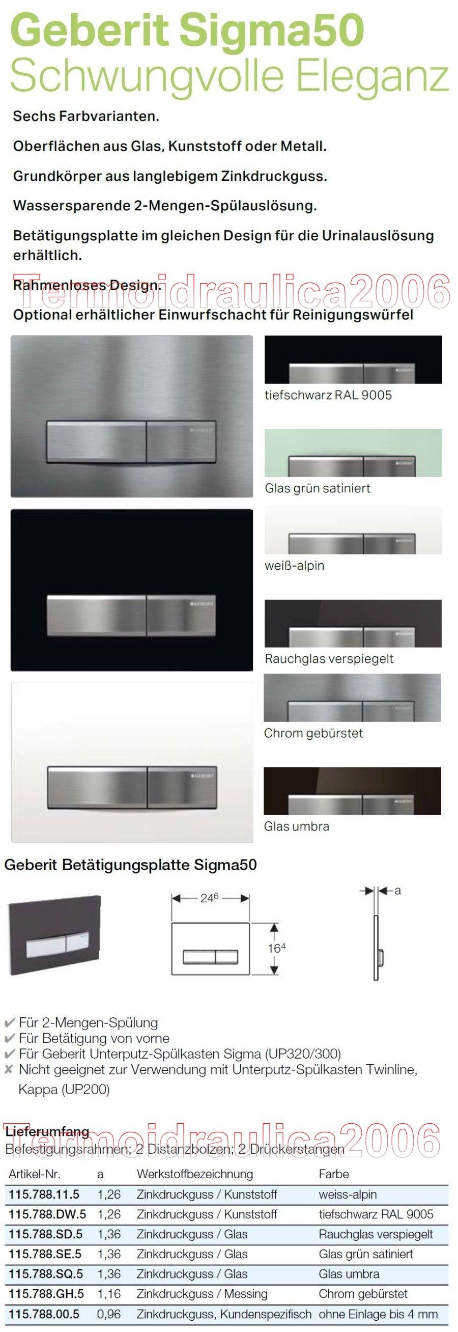 geberit sigma50 bet tigungsplatte 2 mengen rauchglas verspiegelt ebay. Black Bedroom Furniture Sets. Home Design Ideas