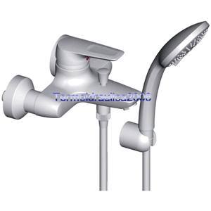 IDEAL STANDARD CERAMIX BLU B9491AA Bath/Shower Exposed Mixer Chrome ...
