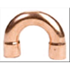 FEMMINA FEMMINA RAME CURVA 180° FF ø 18 U Bend Copper 180 Degree Elbow